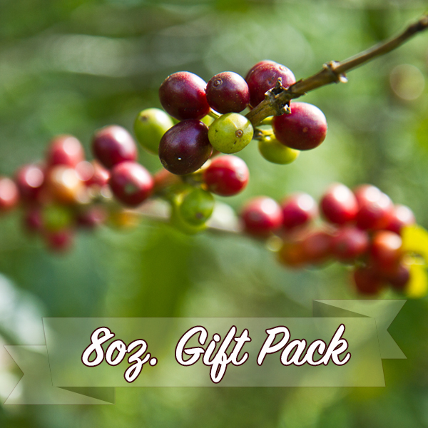 8oz gift pack, 3 bags or 5 bags for only $10 per bag.